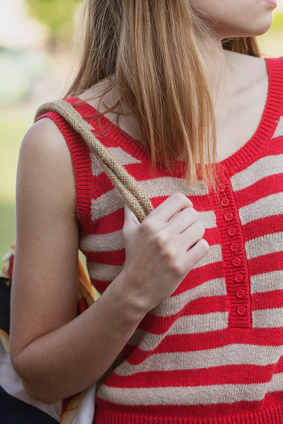 009 cool back to school outfits red tan